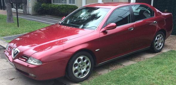 Auto Alfa Romeo 166 V6