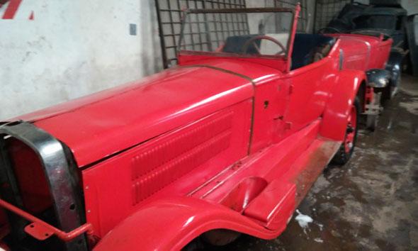 Car Fiat Baquet