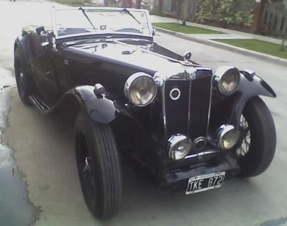 Car MG TC