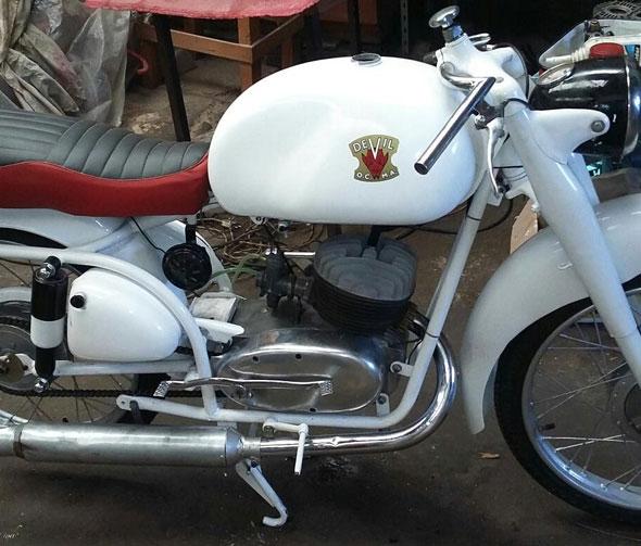 Moto Rumi Devil Sport 160