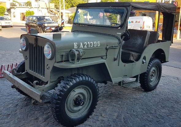 Car Jeep Kaiser M606