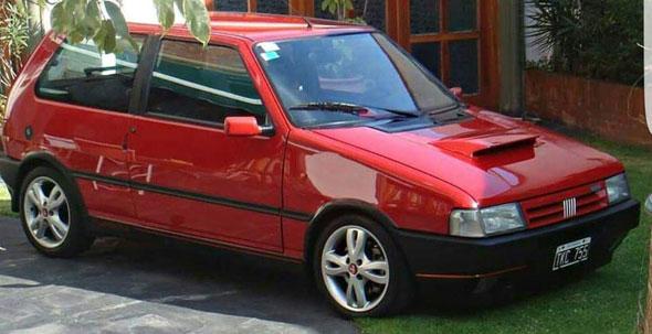 Auto Fiat Uno Turbo IE 1994