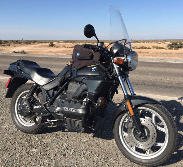 BMW K75 Motorcycle