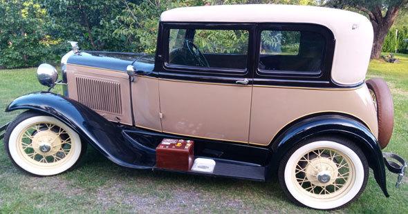 Auto Ford A Victoria 1931