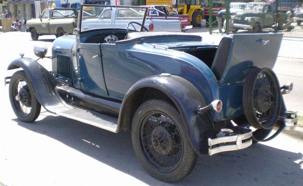 Car Ford Coupé Convertible