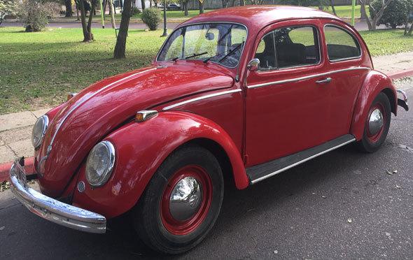 Auto Volkswagen Escarabajo1959