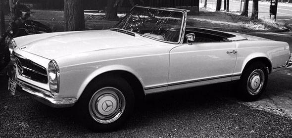 Car Mercedes Benz 230 SL 1965