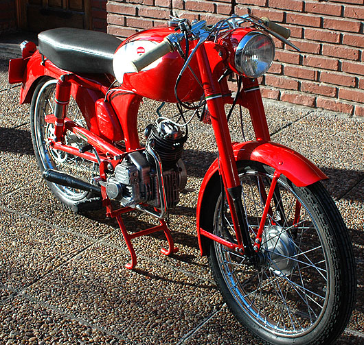 Moto Ducati 65 1951