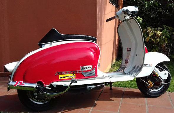 Moto Siambretta TV 175 1963
