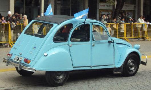 Car Citroen 3CV