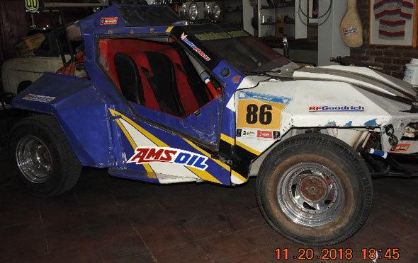 Auto Buggy Arenero Prats