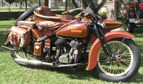 Moto Harley Davidson 1936
