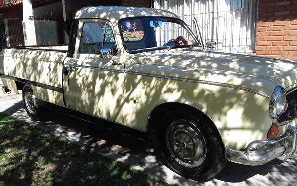 Auto Peugeot T4B 403