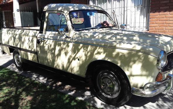 Car Peugeot T4B 403