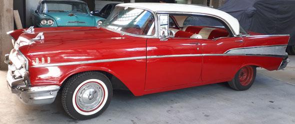 Auto Chevrolet Bel Air  1957