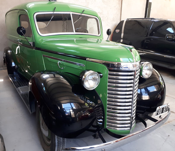 Car Chevrolet Delivery 1938