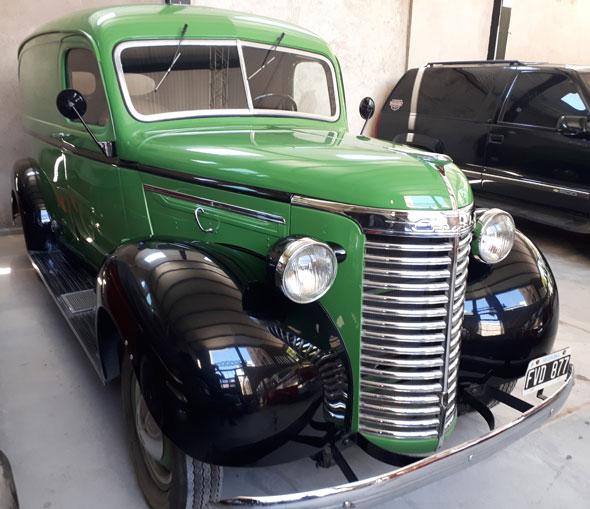 Auto Chevrolet Delivery 1938