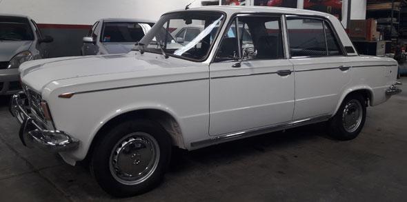 Car Fiat 1600 Berlina 1972