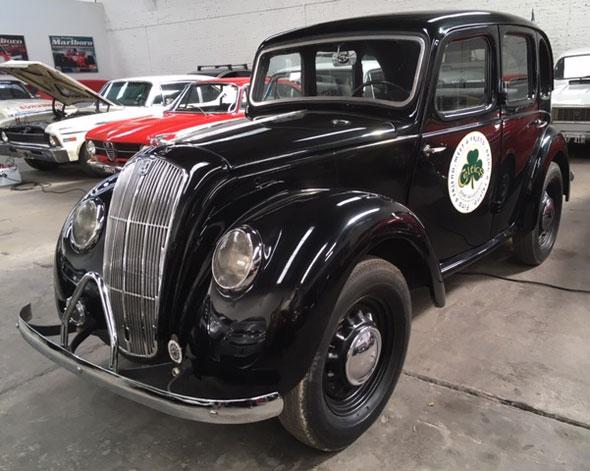 Auto Morris 8 1947