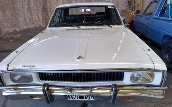 Car Dodge Polara 1974