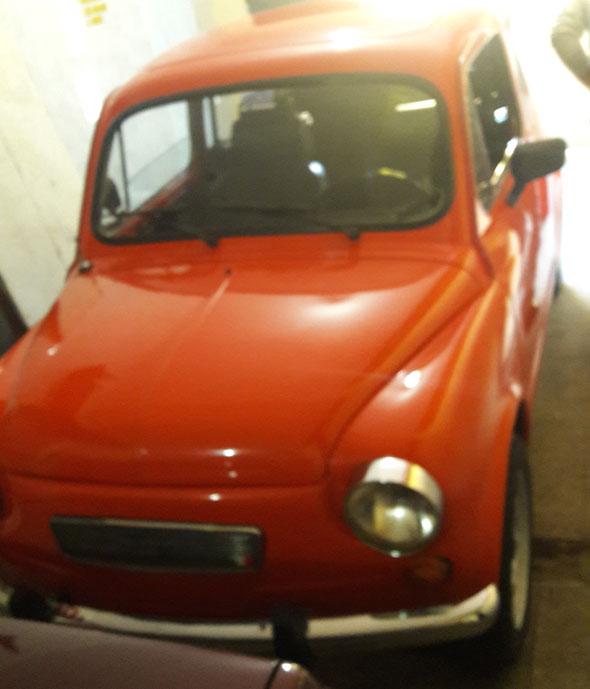 Auto Fiat 600S 1979