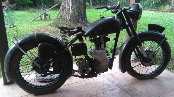 Velocette Mac Motorcycle