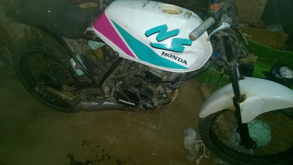 Honda NS50 Motorcycle