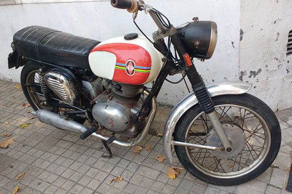 Gilera Gran Turismo Motorcycle