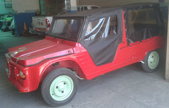 Auto Citroen Mehari