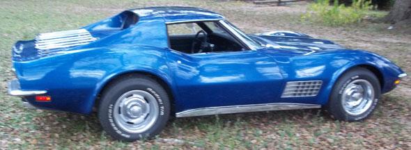 Car Chevrolet Corvette 1971