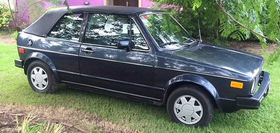Car Volkswagen Golf Cabriolet Karhman