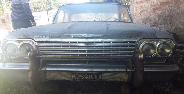 Auto Chevrolet Impala 1962