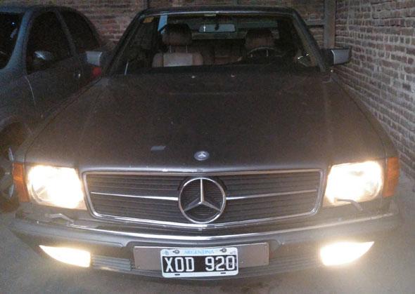 Car Mercedes Benz 500SEC