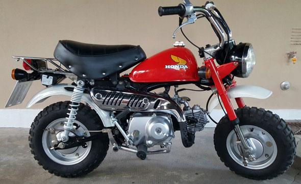 Moto Honda Z50J Monkey