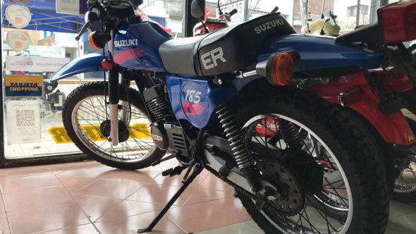 Suzuki TS185 ER Motorcycle