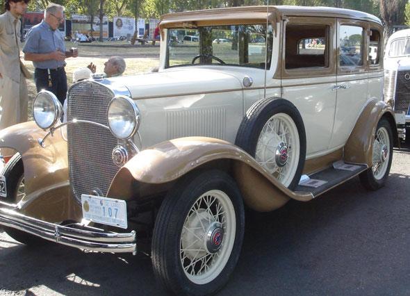 Auto Chevrolet 1931 Sedán