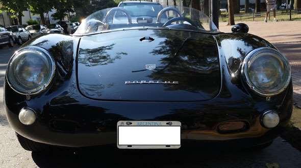 Auto Porsche 550