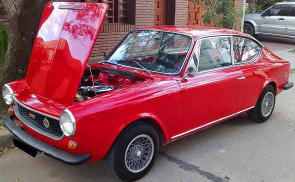 Auto Fiat 125 Coupé