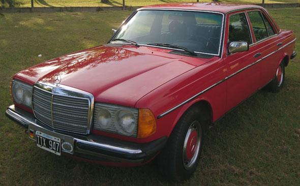 Car Mercedes Benz 200 1980
