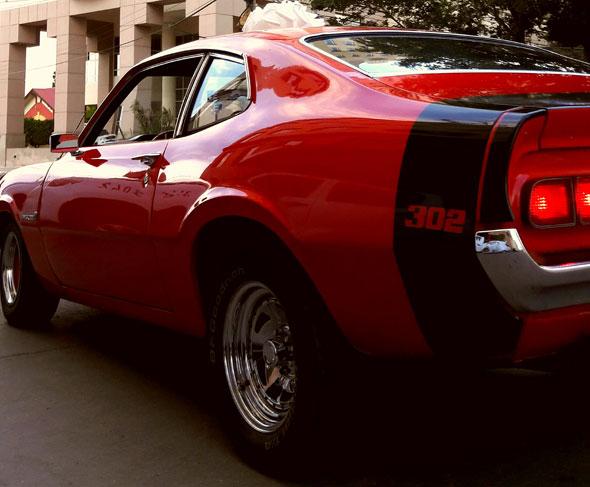 Auto Ford Maverick GT V8 Boos 302