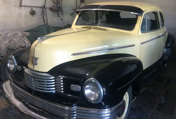 Auto Nash 1947 Coupé