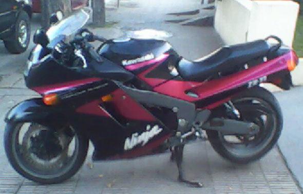 Moto Kawasaki Zx11