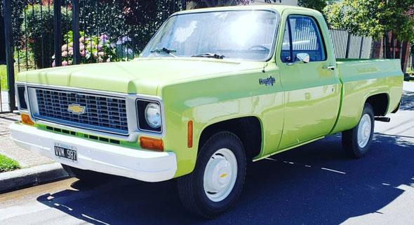 Auto Chevrolet C10 1974