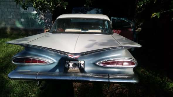 Car Chevrolet 1959