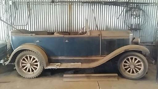 Car Chevrolet AC 1929