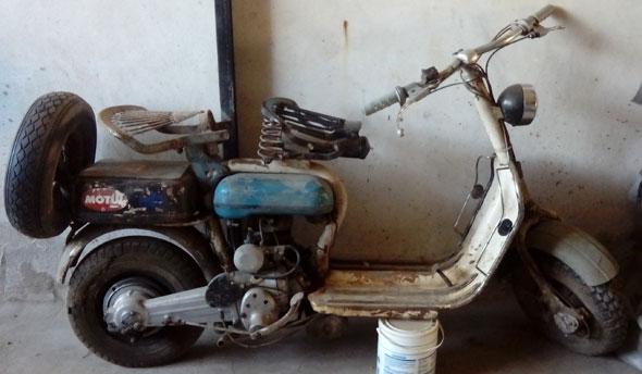 Siamlambretta D 1955 Motorcycle
