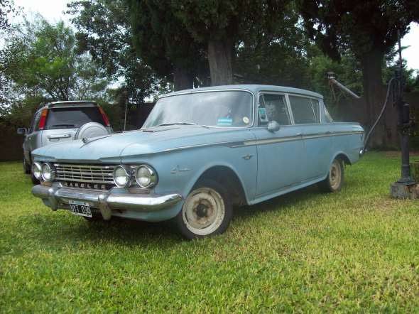Car Rambler Classic 1962