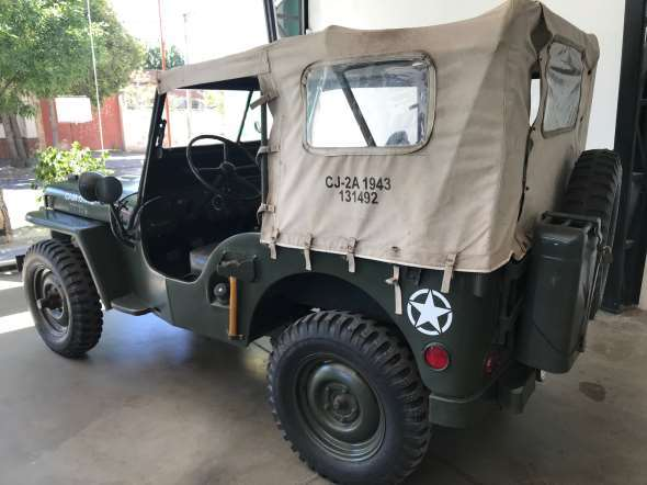Car Jeep Willy 1943