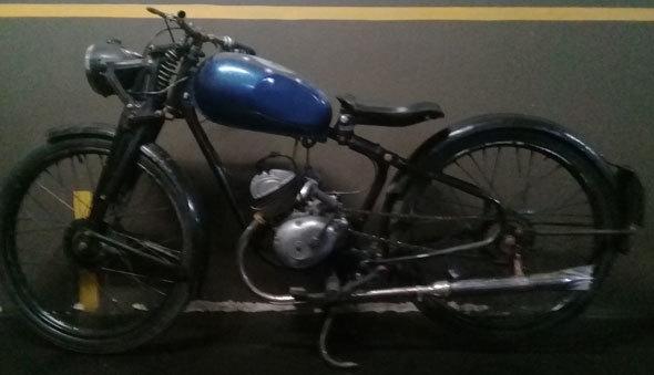 Puma Segunda Serie Motorcycle