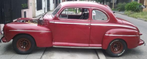Auto Ford 1947 Coupé De Luxe